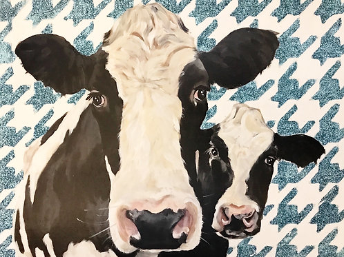 Lucy and Ethel 16x20