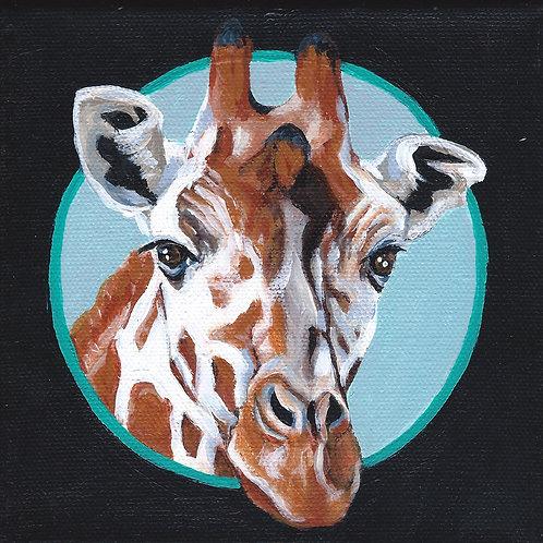 Georgia the Giraffe - 6x6