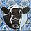 Thumbnail: Paisley Cow Canvas Print