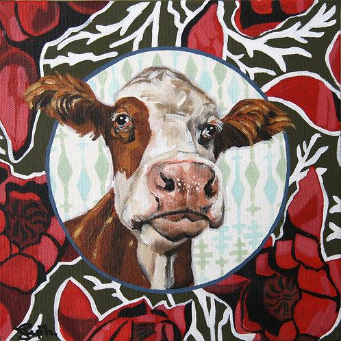 Agnes the Cow - 10x10