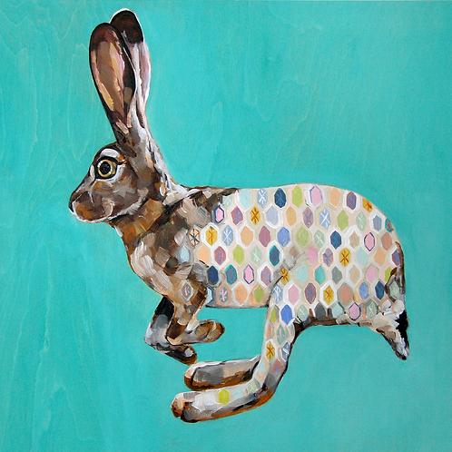 Wild Hare 12x12