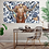 Thumbnail: Longhorn on Chinoiserie Canvas Print