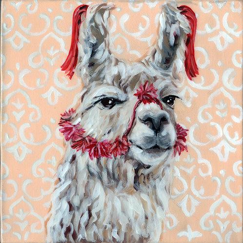 Patricia the Peruvian Llama 8x8
