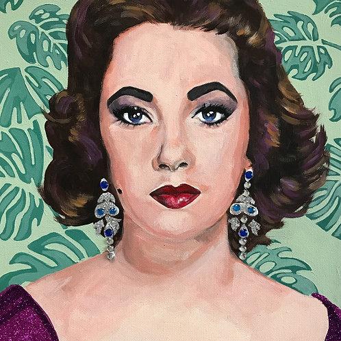 Elizabeth Taylor 12x12