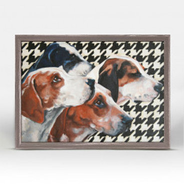 Hounds on Houndstooth