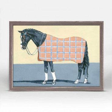 Dark Horse in Plaid