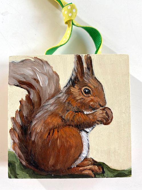 Squirrel & Nut