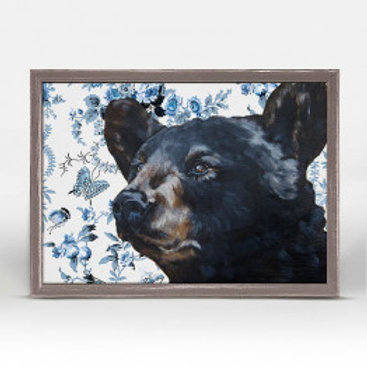 Black Bear on Chinoiserie