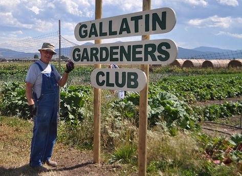 Market garden sign