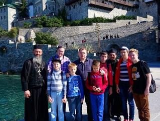 Святейший Патриарх Кирилл посетил Сергиево-Посадский дом-интернат слепоглухих для детей и молодых ин