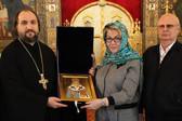 Посол РФ в Болгарии Э.В. Митрофанова посетила Патриаршее подворье в Софии