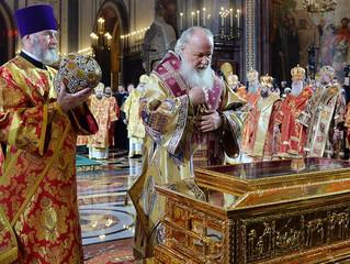 Мощи Святителя Николая Чудотворца вернулись в г. Бари.