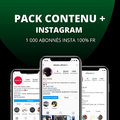 PACK CONTENU +