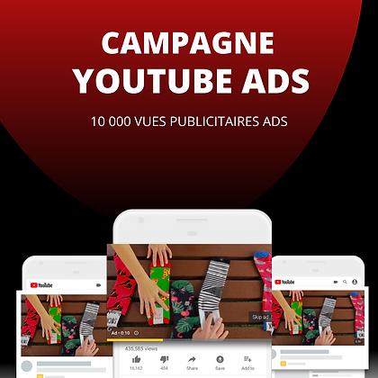 Publicité Youtube Ads // 10 000 visionnages