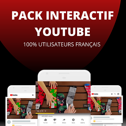 Pack Interactif 100% FR