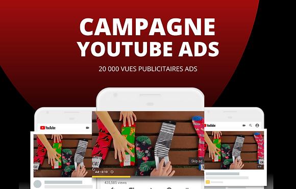 Publicité Youtube Ads // 20 000 visionnages