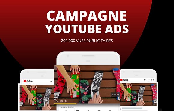 Publicité Youtube Ads // 500 000 visionnages