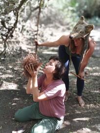 בנות השבט שומרי הגן