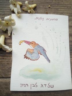שלדג - איור מתוך קלפי טוטם