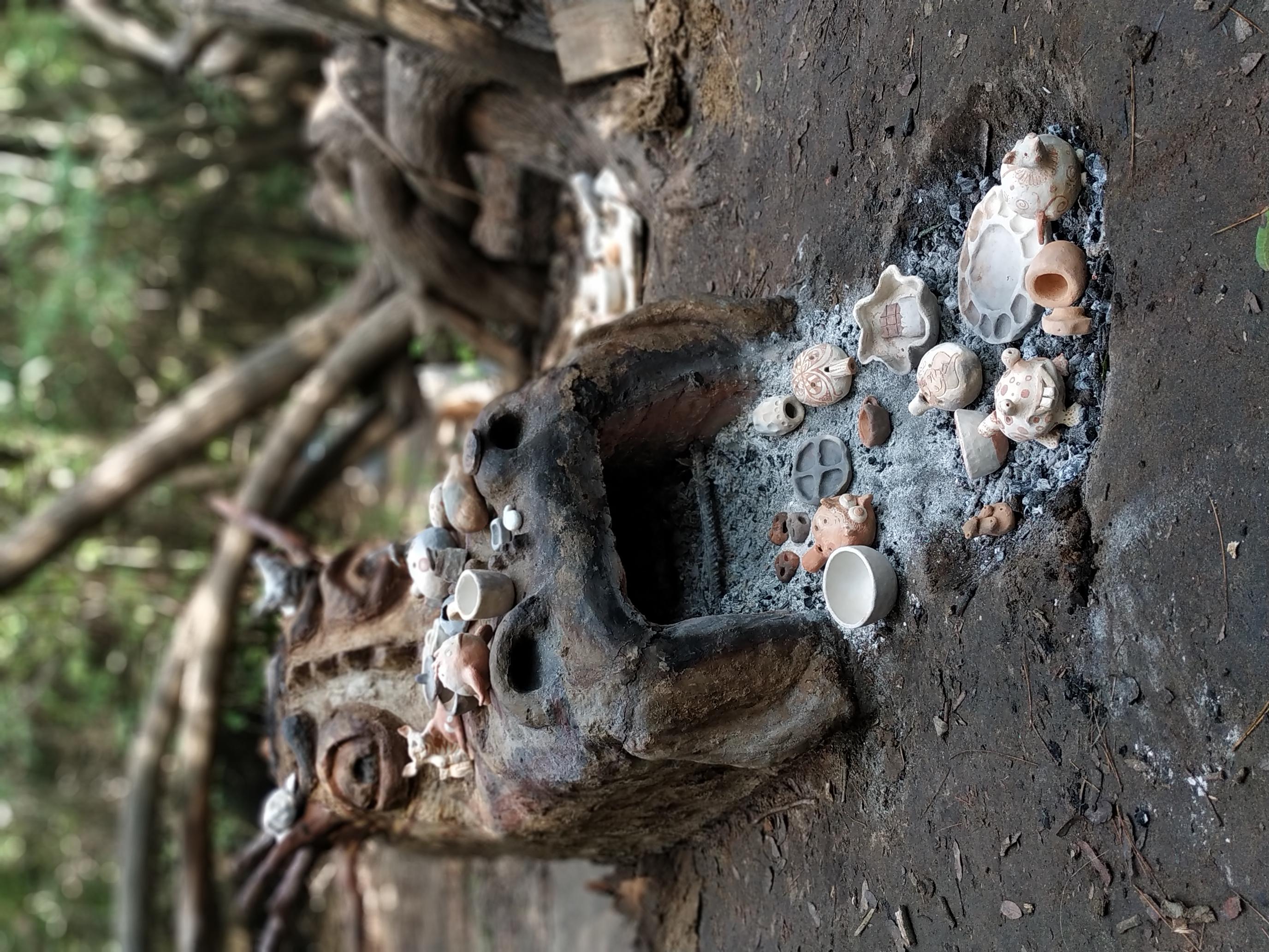 תנור קרמיקה מאדמה מקומית