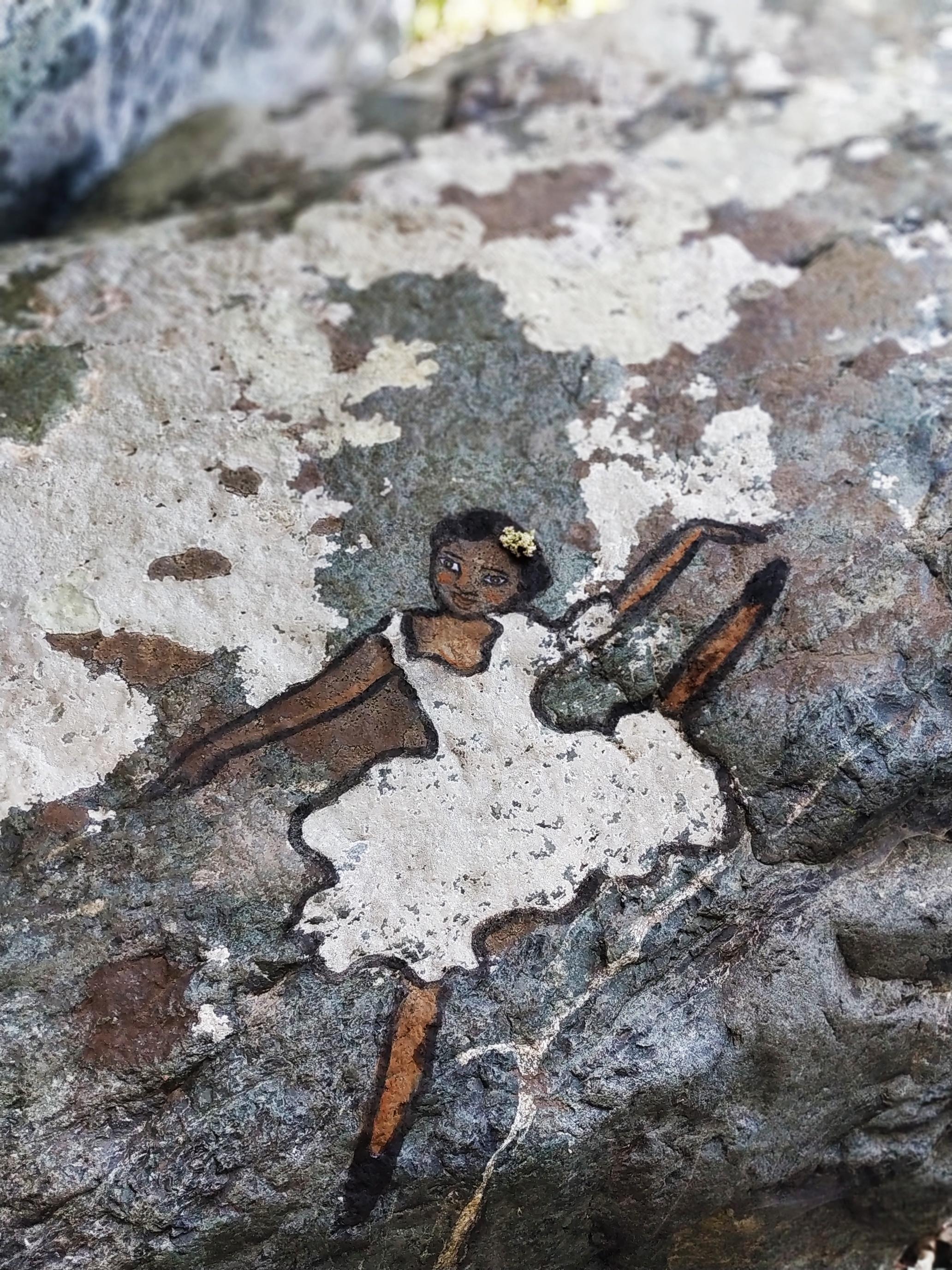 ציור על חזזית בסמותראקי