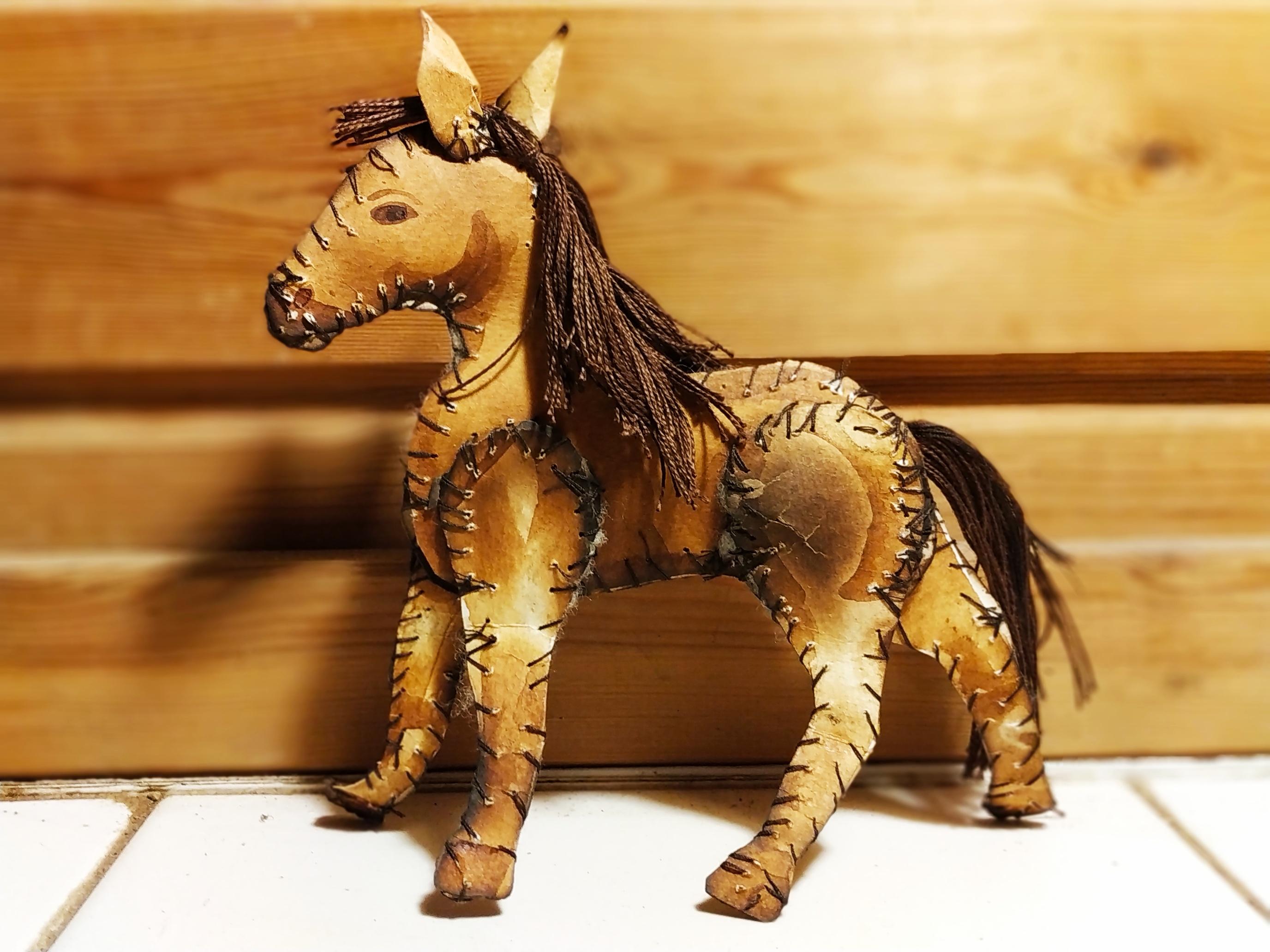 סוס ציור לימון