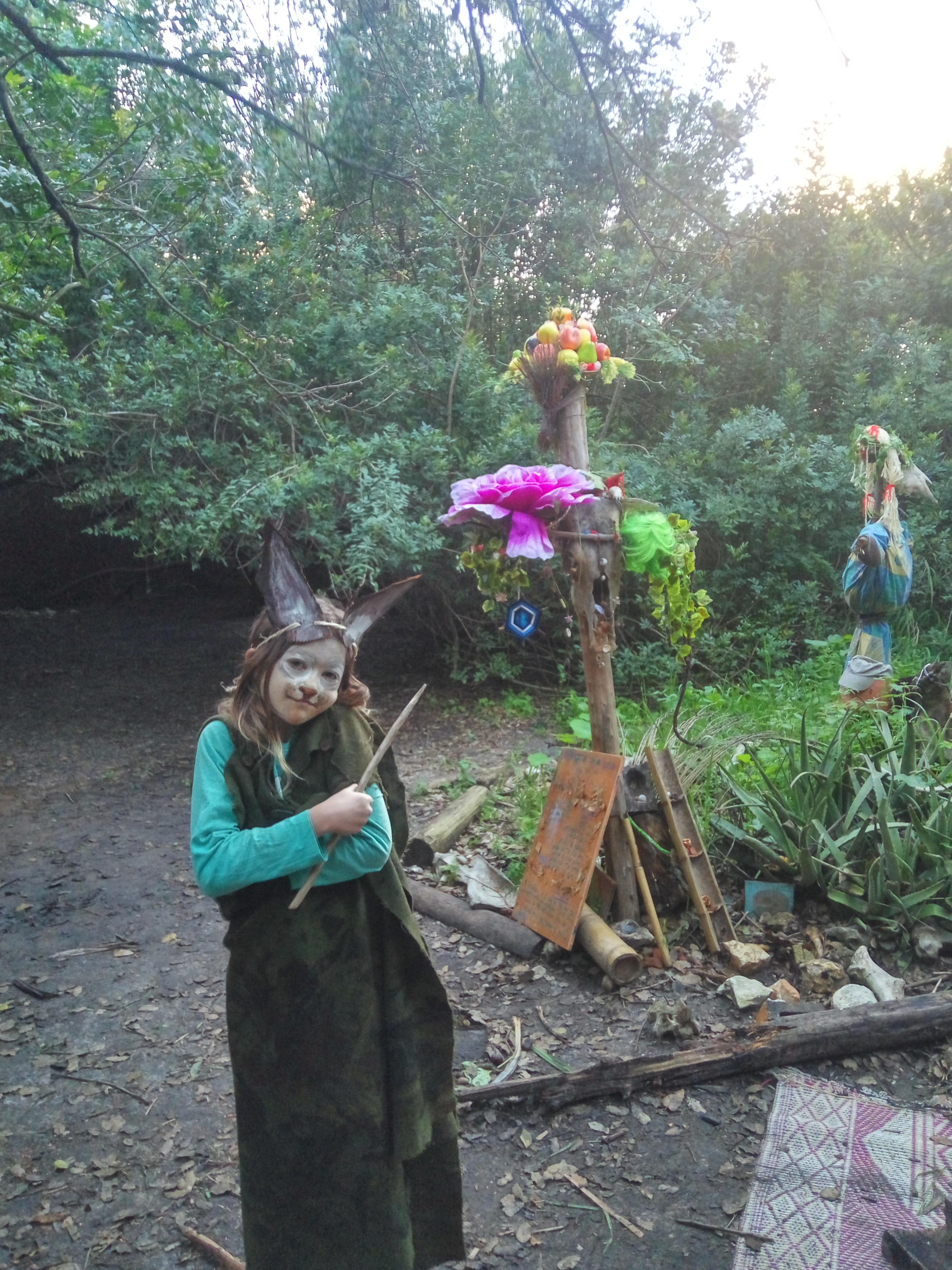 פורים בחוג שומרי הגן
