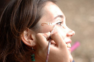 בנות השבט- ארוע בת מצווה בטבע