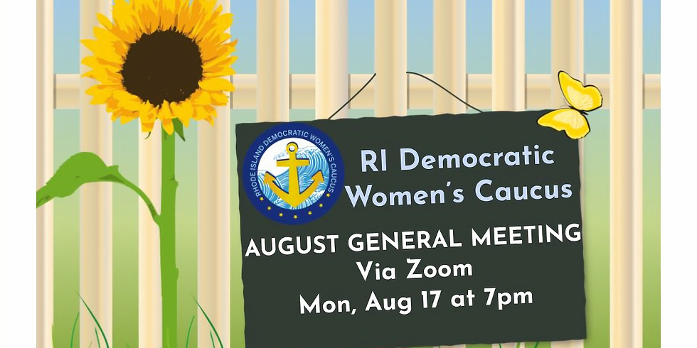 RIDWC August General Meeting