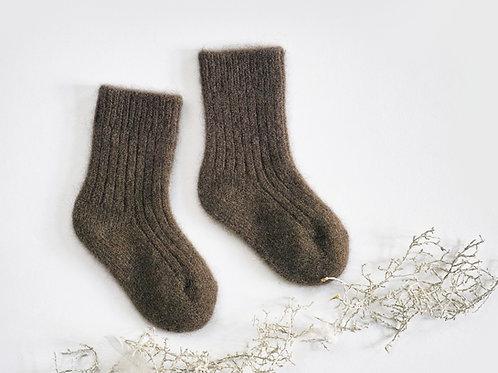 Dětské jačí ponožky - zem