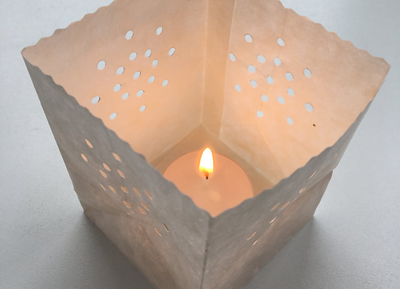 Paper Candle Bag