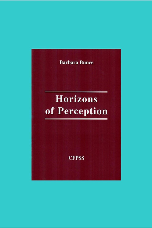 Horizons of Perception