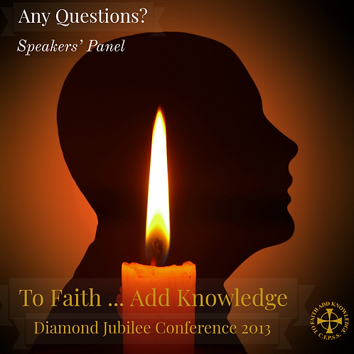 Conference 2013 - Any Questions? (CD)
