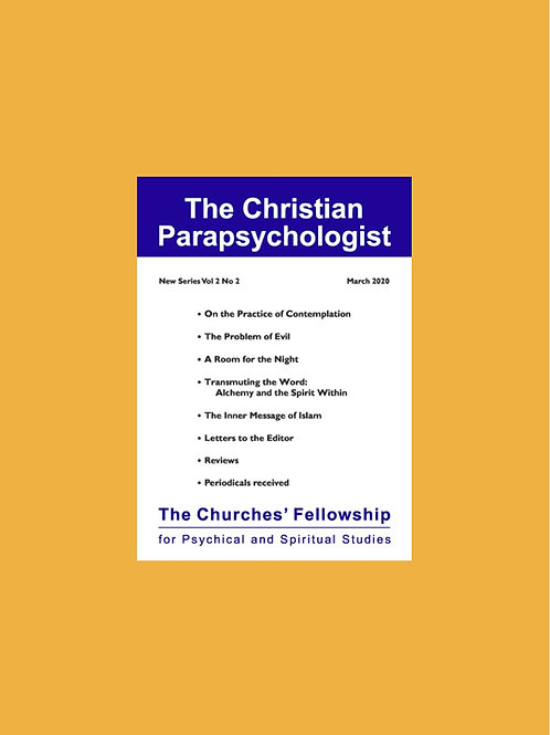 The Christian Parapsychologist subscription - OS