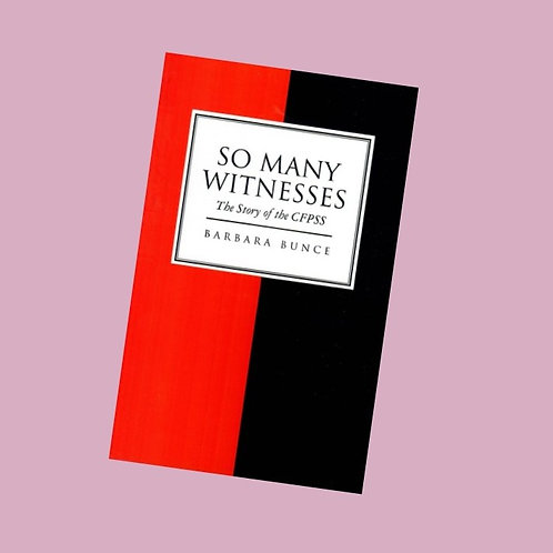 So Many Witnesses - Barbara Bunce