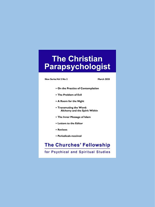 The Christian Parapsychologist subscription