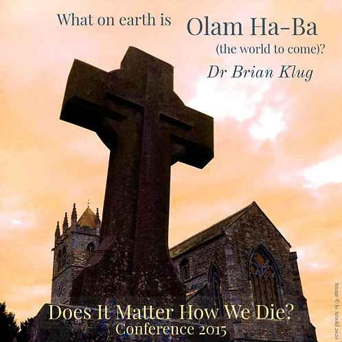 What on Earth is Olam Ha-Ba (the world to come)?
