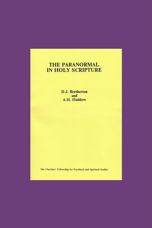 The Paranormal in Holy Scripture