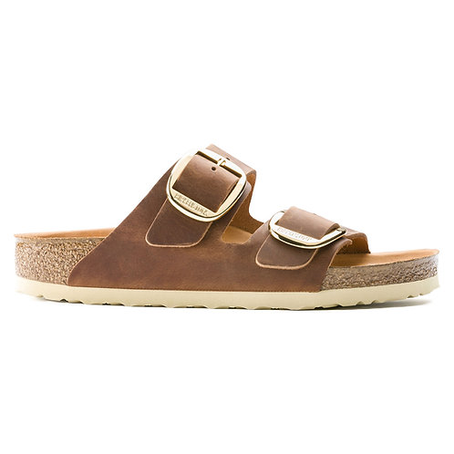 Birkenstock - Arizona Big Buckle cognac