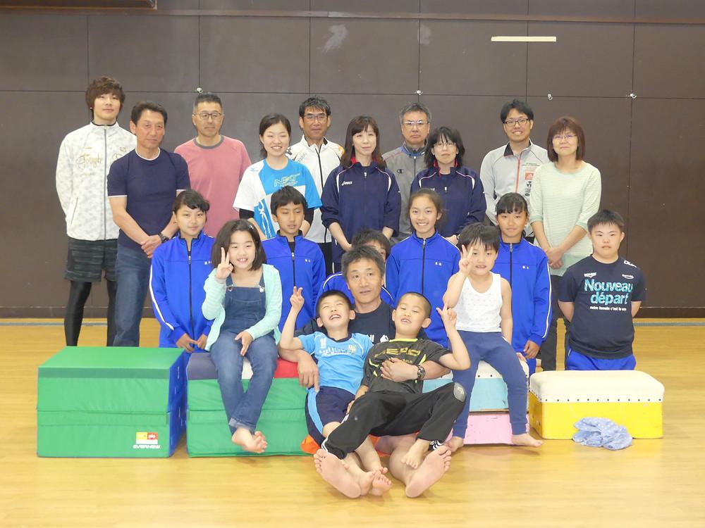 講師松浦先生と集合写真