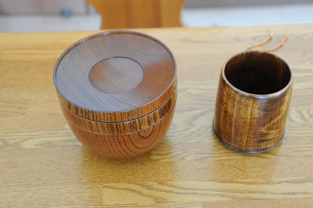 山中塗りたに屋の欅ひとりぶん、会津塗りのNODATE mug