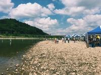 去年の水切り大会
