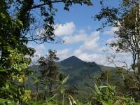 途中から見るパンケ山