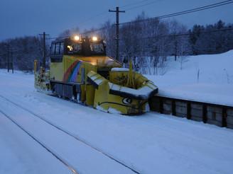 排雪モーターカー