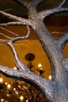 Detail of treehouse door