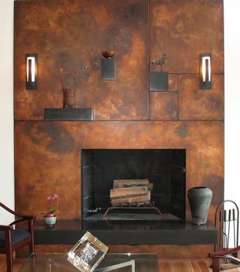 Fibonacci fireplace