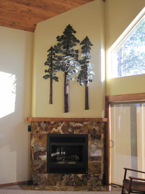 Ponderosa pine wall hanging