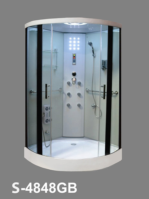 S-4848GB Large Walk-in Shower Room