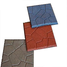 This is  rubber paver for your home, kids playground and padio.