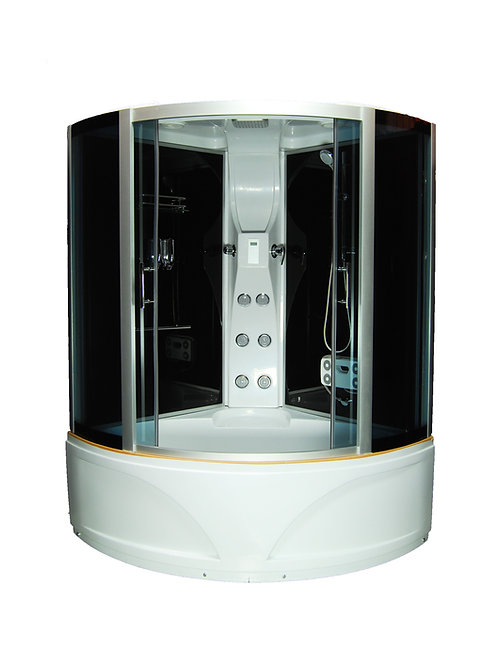 S-1605 Round Corner Bath & Shower Enclosure